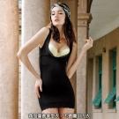 曼黛瑪璉-14SS魔幻美型  重機能美型衣(黑)
