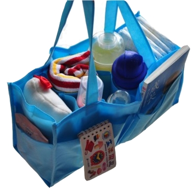 colorland【2入】媽媽包內襯手提收納格 袋中袋