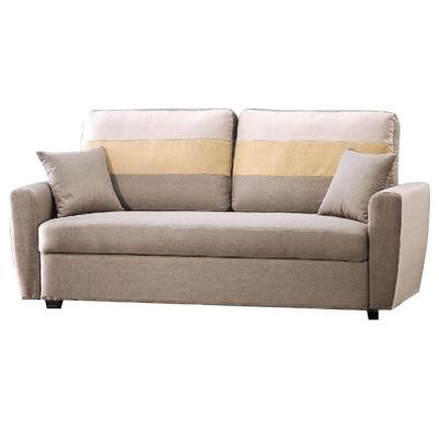 品家居-美夢成真收納布面雙人座沙發-四色可選