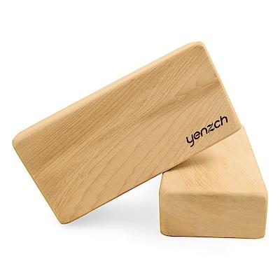 Yenzch 檜木瑜珈磚(2入 23x11x5.5cm) RM-11138