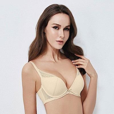 La Felino-夏日情懷3/4罩深V泡棉款B-E罩杯內衣 (檸檬黃)