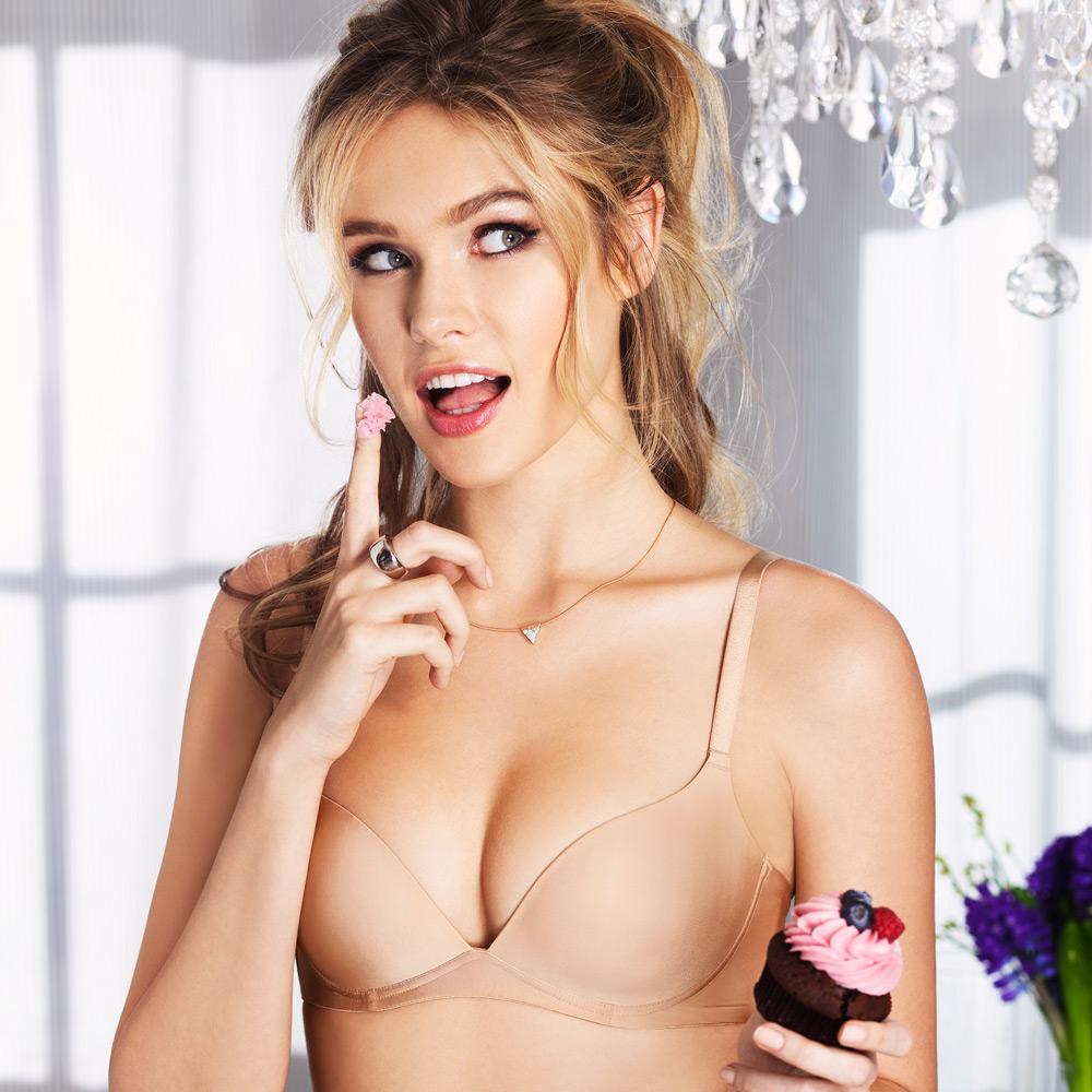 黛安芬-無鋼圈魔術無痕內衣 B-C罩杯(經典裸)