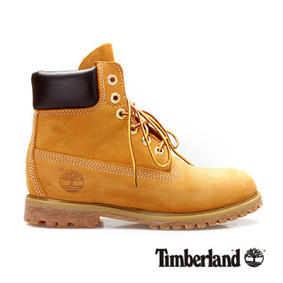 Timberland 女款經典6吋防水黃靴