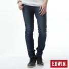 EDWIN 迦績褲 JERSEYS X EDGE窄直筒牛仔褲-男-石洗綠
