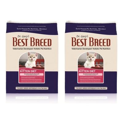 BEST BREED貝斯比 幼貓高營養配方 貓飼料 1.8kg X 2包入