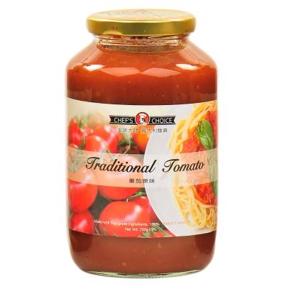 美味大師 義大利麵醬-蕃茄原味 720g