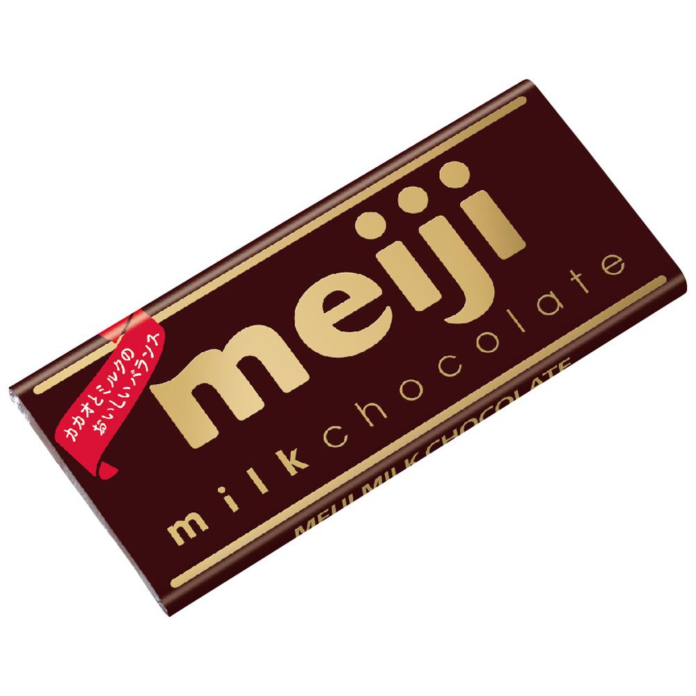 明治 牛奶巧克力-片裝(50g)