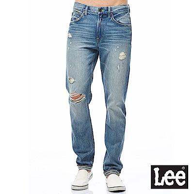 Lee 牛仔褲 731中腰舒適小直筒牛仔褲-男款