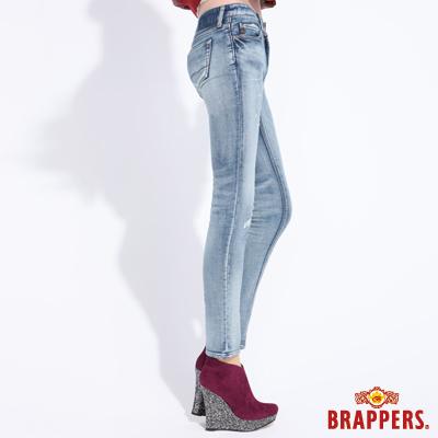 BRAPPERS 女款 新美腳Royal系列-女用彈性針織AB褲-藍