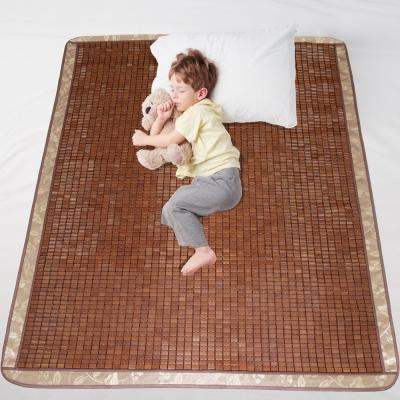范登伯格 - 夏樂 涼感碳化麻將竹蓆 - 雙人蓆 (150x186cm)