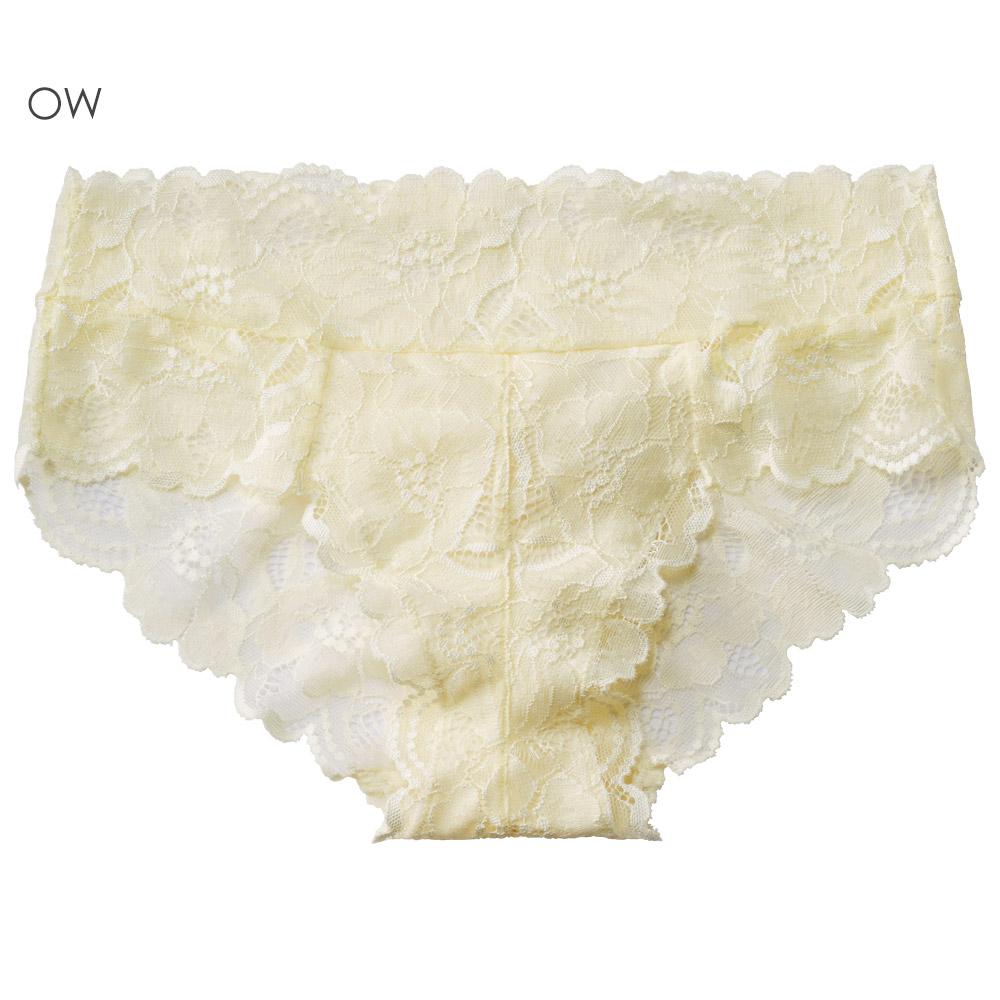 aimerfeel 全蕾絲包覆性感內褲-米白色