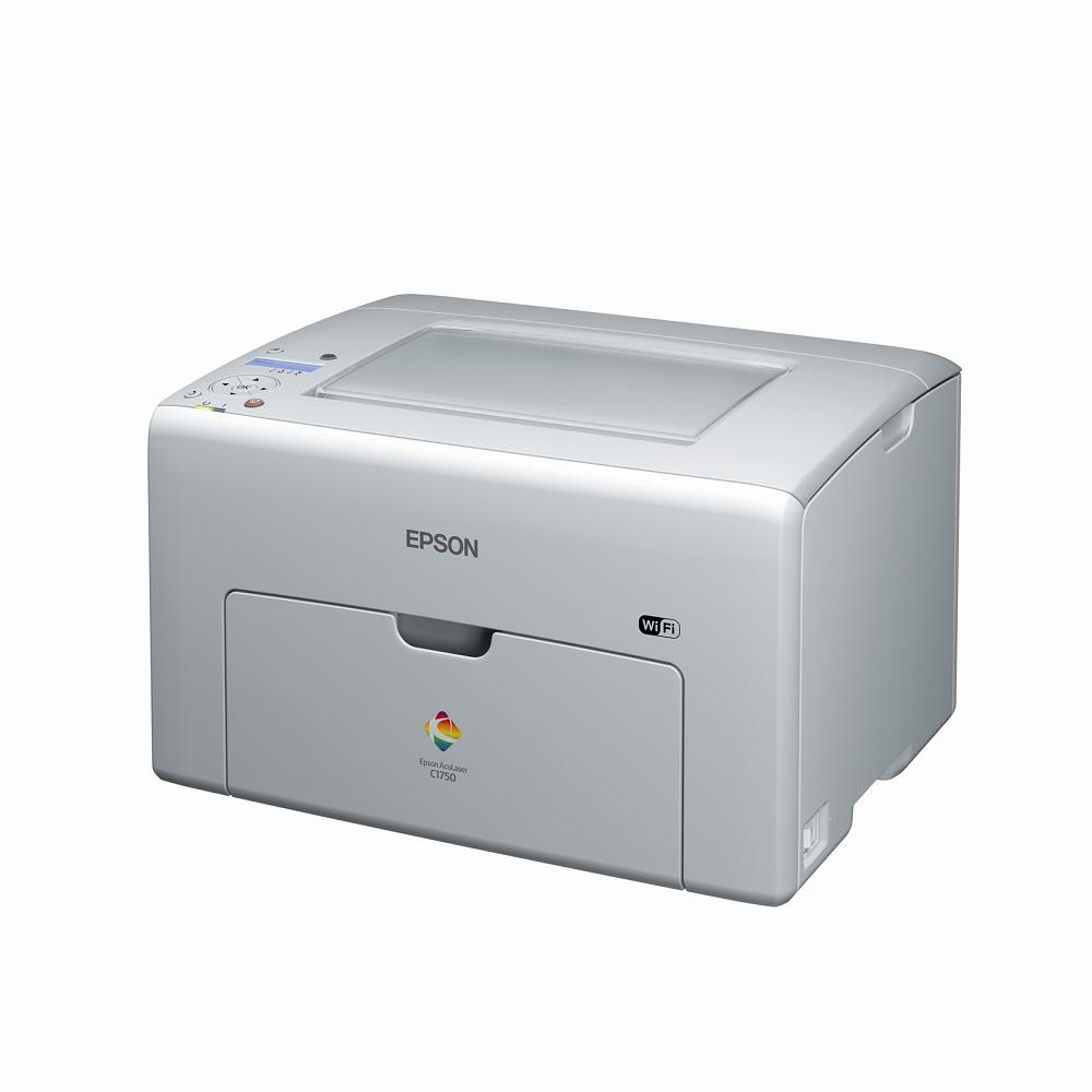 EPSON AucLaser-C1750W 彩色雷射印表機