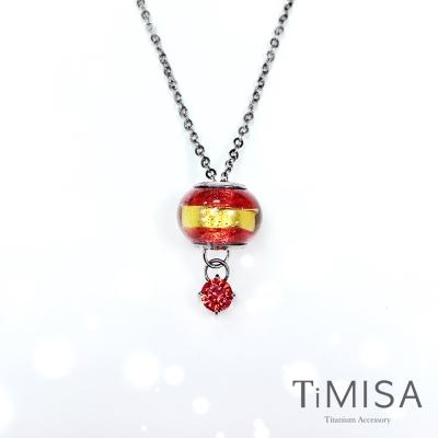 TiMISA 純鈦琉璃串飾 誕生幸運套鍊(12色可選)