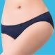莎薇 深V粉水好素配M-L 低腰三角褲(深黑藍) product thumbnail 1