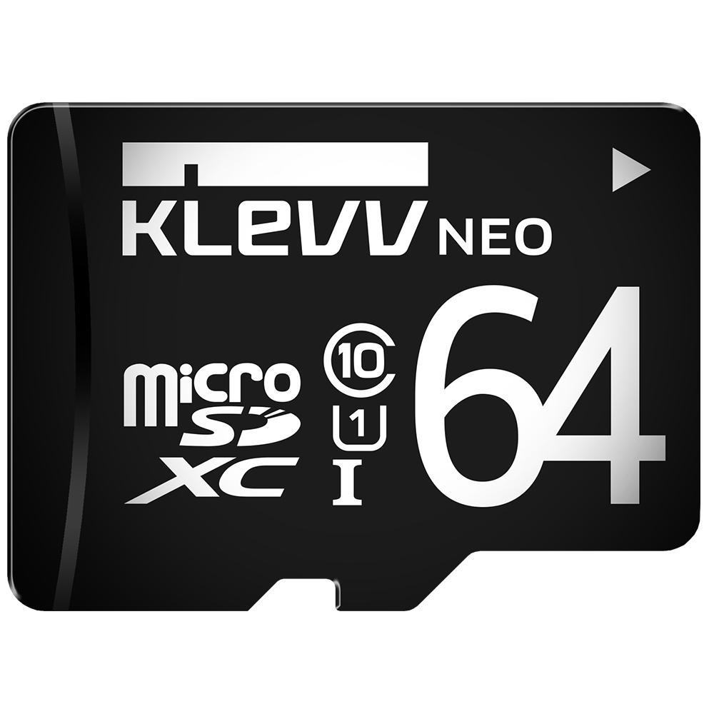 KLEVV 科賦 Micro SDXC UHS-1 64GB 記憶卡(無轉卡) @ Y!購物
