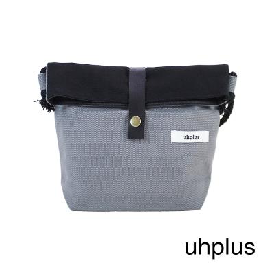 uhplus New Journey系列-撞色巧巧包(黑)