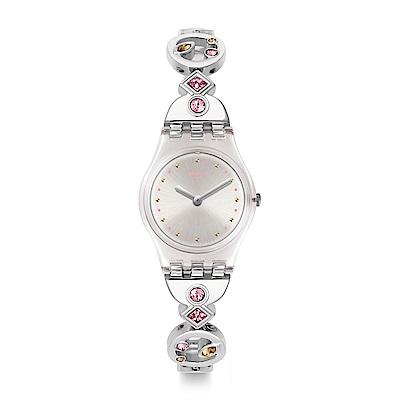 Swatch 就是SWATCH BELLA LEI 美麗佳人手錶