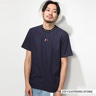 街頭風聯名款短TEE(3色) ZIP日本男裝