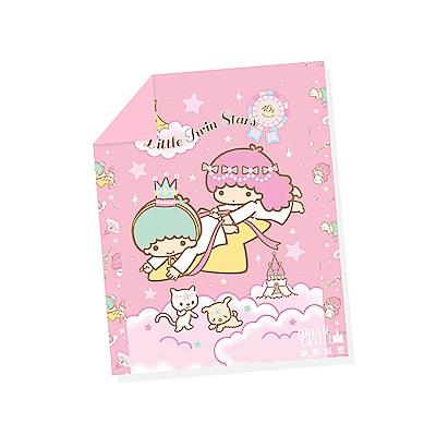 享夢城堡 單人涼被4x5-雙星仙子Little Twin Stars 40週年-粉.紫