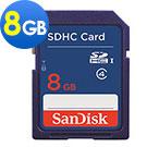 SanDisk SDHC 8GB 記憶卡 Class 4 (公司貨)