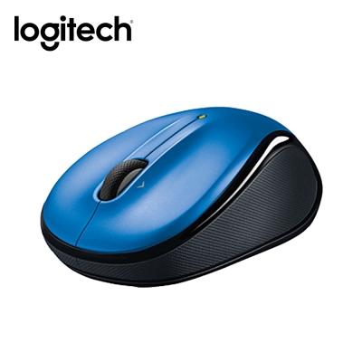羅技 無線滑鼠 M325 (藍)