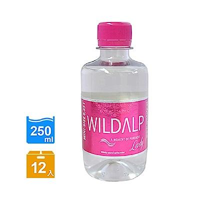 WILDALP 奧地利天然礦泉水-粉(250mlx12瓶)