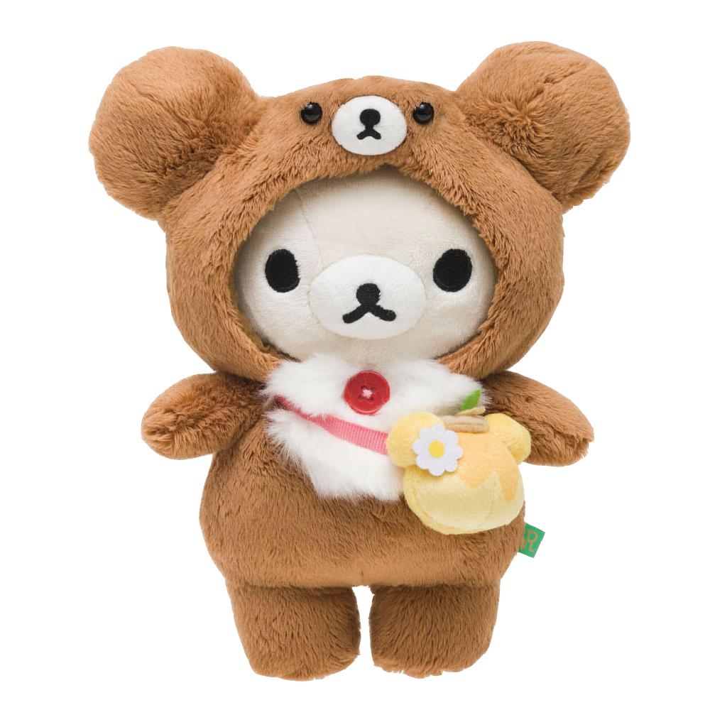 拉拉熊蜂蜜森林小熊系列毛絨公仔。懶妹