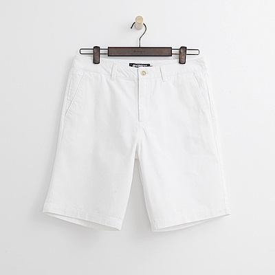 Hang Ten - 男裝 - 百慕達休閒短褲-白色