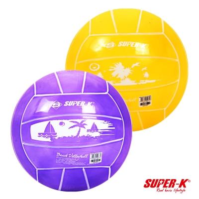 《凡太奇》SUPER-K。15cm PVC沙灘排球 - 快速到貨
