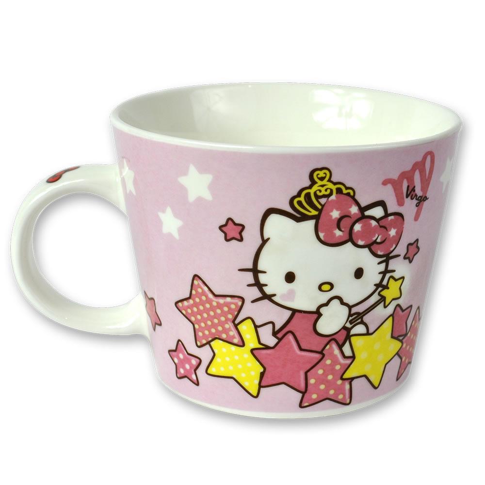 三麗鷗Hello Kitty星座馬克杯-處女座