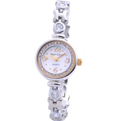 Royal Crown 法國名媛 優雅晶鑽腕錶-22mm