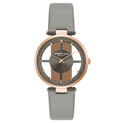 Kenneth Cole 夢境時分氣質腕錶-KC15004009-37mm