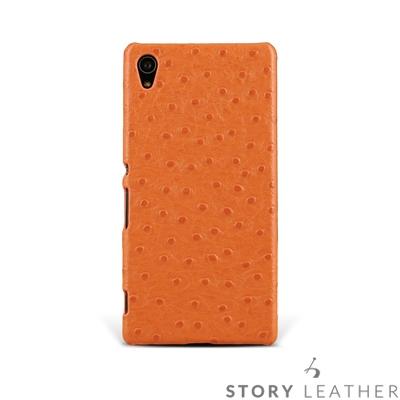 STORYLEATHER SONY Z3+ / Z5 後背手機殼客製化皮套
