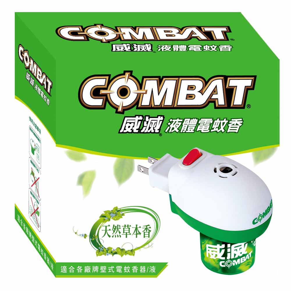 威滅 液體電蚊香 (電蚊香器 1入 + 補充瓶 1入 36ml) @ Y!購物