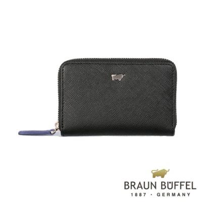 BRAUN-BUFFEL-CURIZO庫爾奇II系列零錢包-黑色