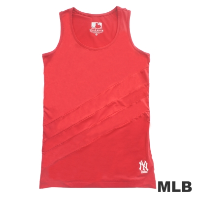 MLB-紐約洋基隊運動長版背心-粉紅(女)