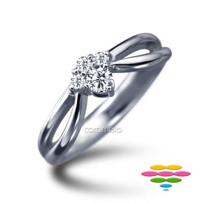 彩糖鑽工坊 9分鑽石戒指 童話故事系列