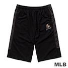 MLB-邁阿密馬林魚隊LOGO印花快排短褲-黑 (男)