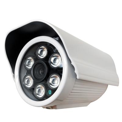 監視器攝影機 - 奇巧 AHD 720P 6陣列燈130萬畫素數位類比雙模切換
