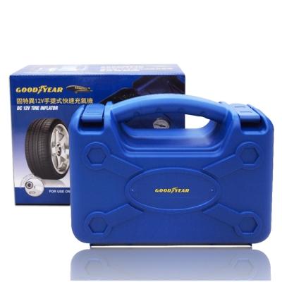Goodyear固特異12V手提式快速充氣機-急速配