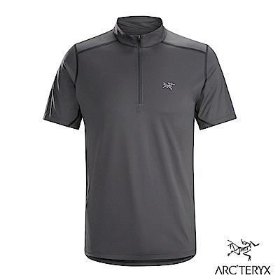 Arcteryx 男 Accelero快乾短袖套頭衫 機長灰