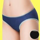 嬪婷 陽光運動系列 M-LL 低腰三角褲(個性黑)