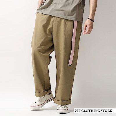百分百純綿CHINO寬褲(5色) ZIP日本男裝