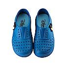 迪士尼 米奇 立體造型 防水休閒鞋-藍