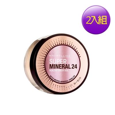 MAYBELLINE-媚比琳-新一代純淨礦物持久蜜粉8gX2入