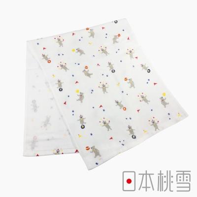 日本桃雪紗布毛巾小小馬戲團(熊熊)
