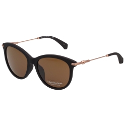 Calvin Klein- 小貓眼 太陽眼鏡(霧面黑)CKJ514SAF
