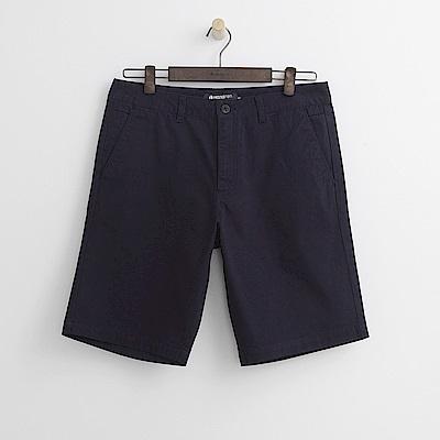 Hang Ten - 男裝 - 百慕達休閒短褲-深藍色
