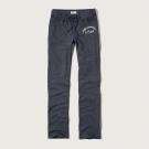AF a&f Abercrombie & Fitch 女長褲 藍色 0055