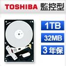 TOSHIBA 3.5吋 1TB 5700RPM/32MB 內接式硬碟